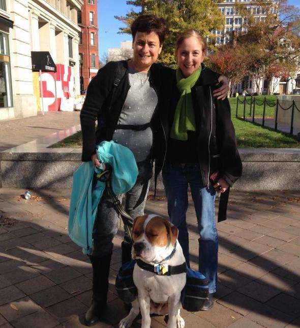 Lynn, Zev (and me!).